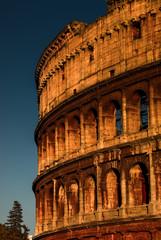 Colosseum at sundown, Rome