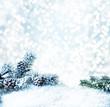 canvas print picture - winterzeit