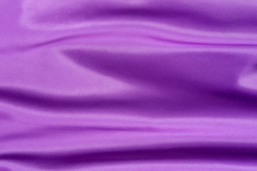 Purple folded satin background