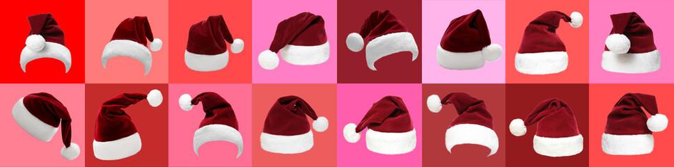 Weihnachtsmützen Set 17