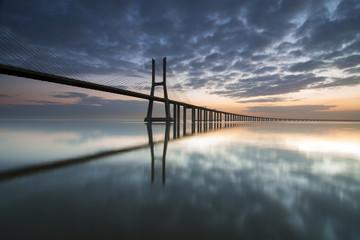 Ponte Vasco da Gama e Rio Tejo