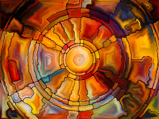Stained Glass Composition