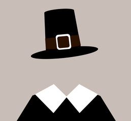 pilgrim with hat
