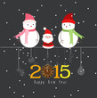 happy new year the winter