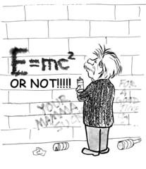 Einstein: e = mc2