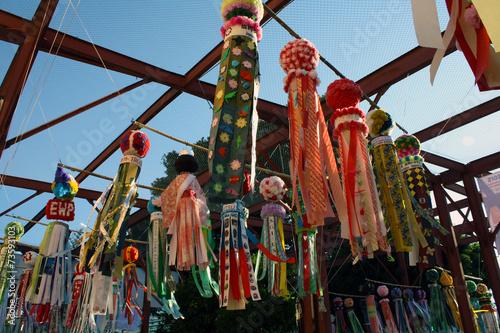 Plexiglas Japan Tanabata Festival
