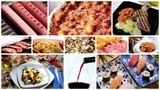 international cuisine montage poster