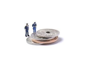 警察官とお金