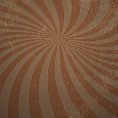 Grunge twirl rays abstract background