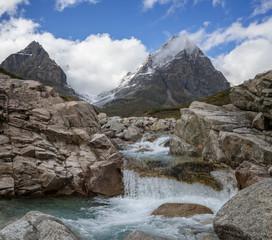 Mountain range Kodar in Eastern Siberia