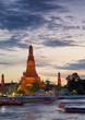 Wat Arun sunset a