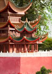 Pagodas on the site of Fahua Temple