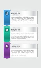 business infographic design template concept