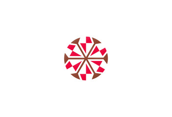 circle abstract geometry vector design element