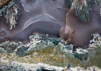 agate precious stone surface closeup