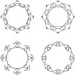 vintage circle frame