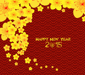 chinese new year template background
