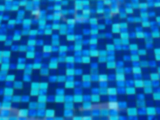 blurry blue pattern