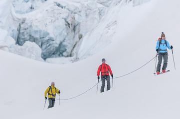 Skitour im extremen Gelände
