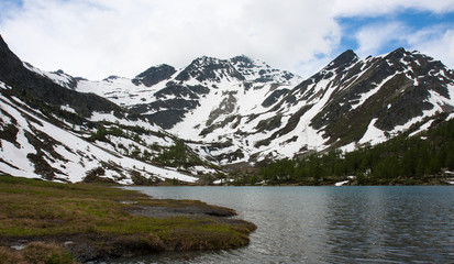 Lago Arpy Valle d'Aosta