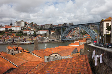 Old City of Porto in Portugal