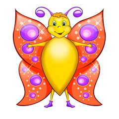 Cartoon Character – Butterfly