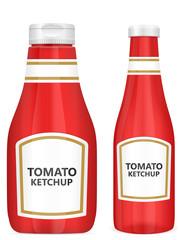 tomato ketchup bottles