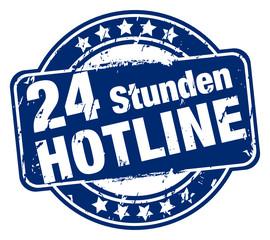24 Stunden Hotline