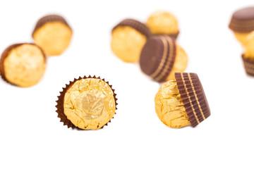 Tasty chocolate bonbons