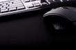 Leinwanddruck Bild - mouse & keyboard