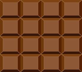 Chocolate Bar Background, Vector