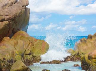 Seascape Foam Waves