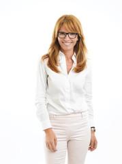 Middle age business woman portrait