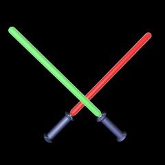 Laser swords