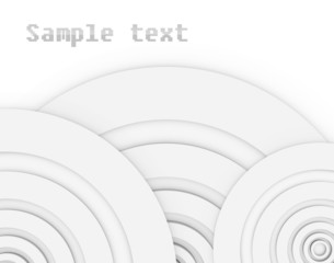 Abstract bacground with sample text.
