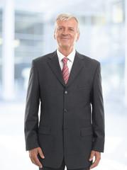 Old businessman portrait