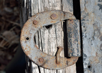 Old door-hinge 1