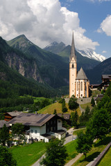 St Vincent Church in Heiligenblut