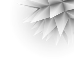 Abstract spikes background