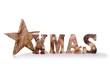canvas print picture - Weihnachten – X-Mas