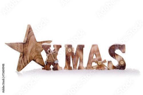 canvas print picture Weihnachten – X-Mas