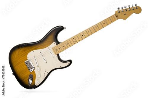 Leinwanddruck Bild electric guitar