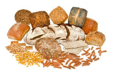 Brot und Nudeln