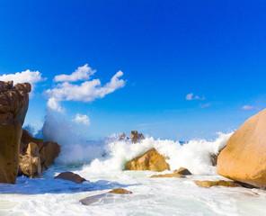 Foam Stones Seascape