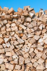 Brennholz, Holz hacken, Kaminholz, Vorrat, heizen