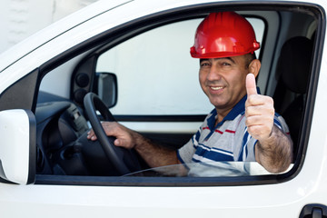 Driver Thumbs Up