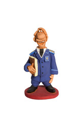 Figurine customs officer