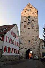 mittelalterliches Obertor in Ravensburg