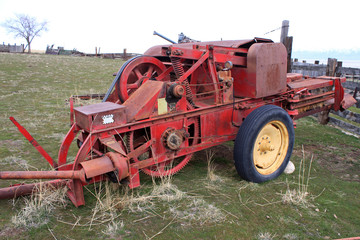 vintage agricultural machinery