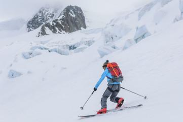 spektakuläre Kulisse zum Skifahren